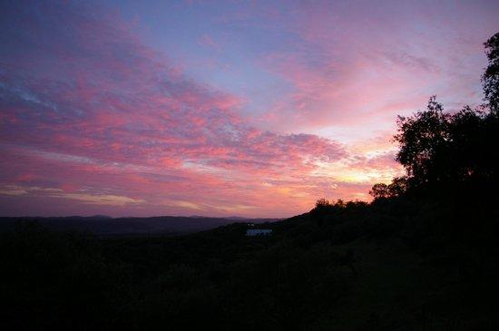Casas Rurales el Rincon de las Tobas: Sunset view