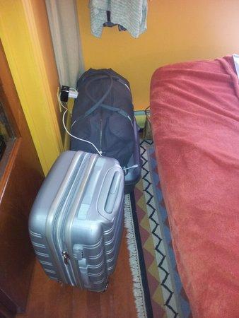 Au GitAnn B&B : our baggage space