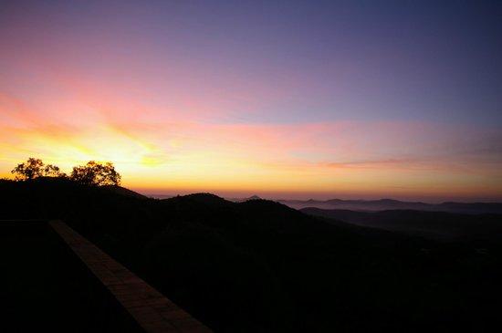 Casas Rurales el Rincon de las Tobas: Sunrise view
