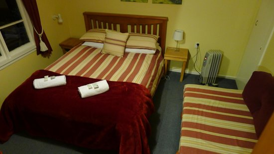 Arthur's Pass Alpine Motel: Double bedroom