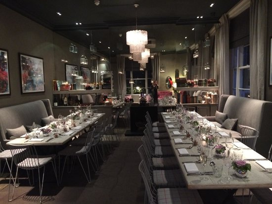The Phene: Hen supper in The Oakley Room