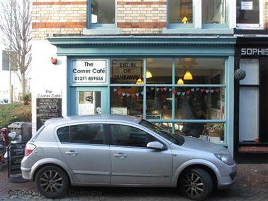 The Corner Cafe: Stock Photo - The Corner Café