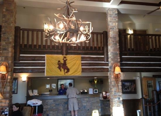 AmericInn Lodge & Suites Laramie - University of Wyoming: the lobby