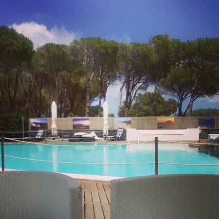 Orsa Maggiore : Area esterna con piscina