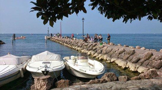 Camping Cisano San Vito: Il porticciolo di Cisano