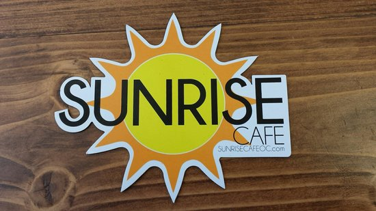 Sunrise Cafe of Ocean City: They have free stickers