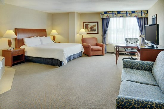 Hilton Garden Inn Toronto / Burlington: King room with Whirlpool