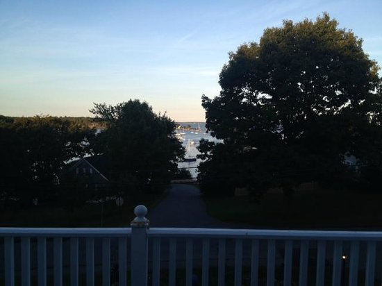 Relais & Chateaux Camden Harbour Inn: Bkocked view described by hotel website as