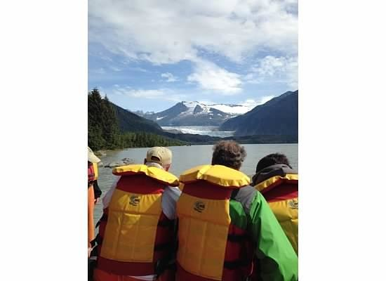 Best of Alaska Mendenhall Glacier Float Trip: Start of trip