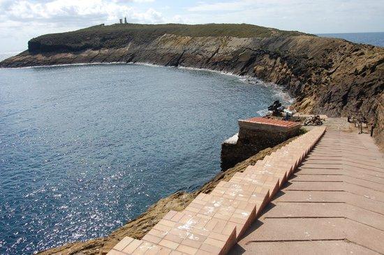 Castellon de la Plana, Spain: isola salita