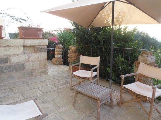 Masseria Ruri Pulcra Hotel & Resort: patio