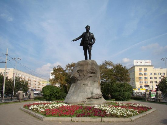 Monument to Sverdlov