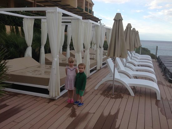 Viva Cala Mesquida Club: The sun terrace