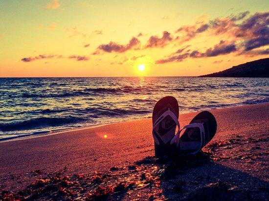 Viva Cala Mesquida Club: Sunrise on the Beach 6.23am (in June)