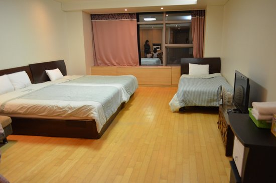 Incheon Airport Guesthouse: 部屋
