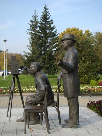 Monument to Lumiere Brothers