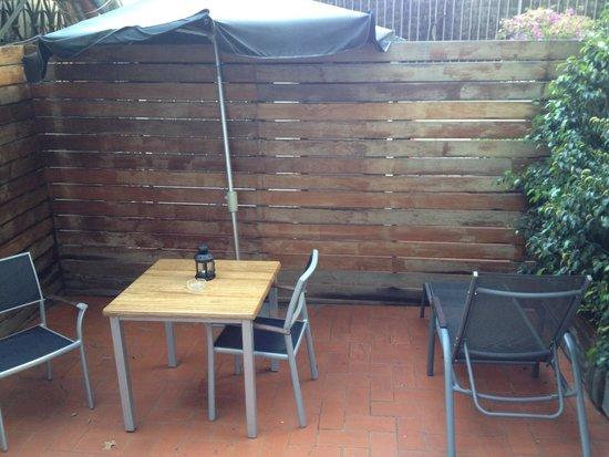 H10 Catalunya Plaza: Terrace room no 105