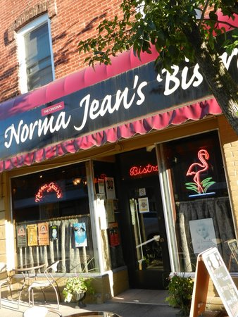 Norma Jean's: outside