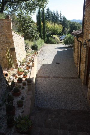 Villa Loghino: Paths on grounds