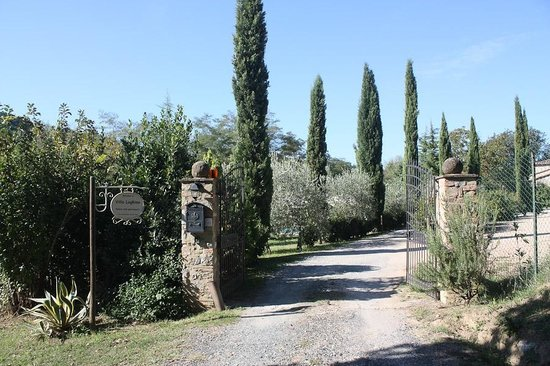 Villa Loghino : Entrance gate