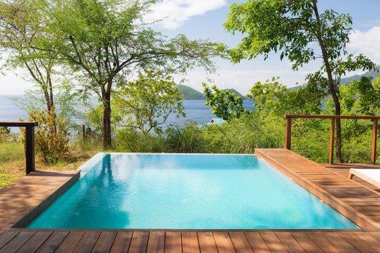 Secret Bay: Pool at Zabuco villa 2