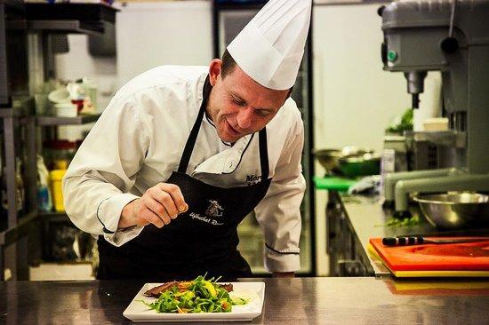 Golf Hotel Morris: kuchař