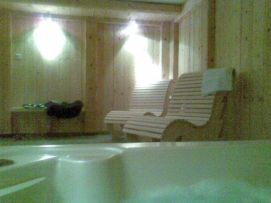 espace d tente jacuzzi sauna douche photo de les