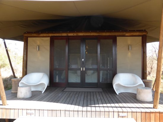 andBeyond Ngala Tented Camp : luxe tent