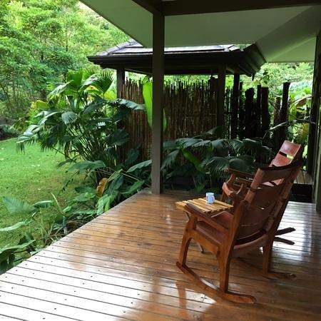 El Silencio Lodge & Spa: deck