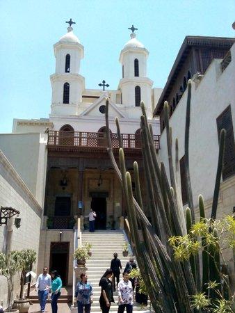 Old City (Coptic Cairo): الكنيسة المعلقة