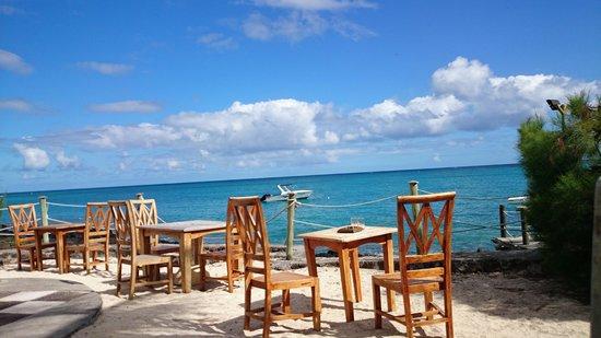 Hibiscus Beach Resort & Spa: Petit Déjeuner avec vue imprenable sur l Océan