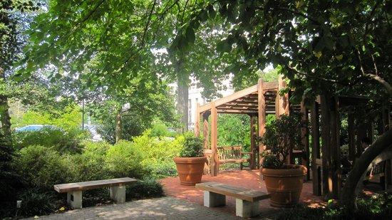 Albert Einstein Memorial: jardin japonais
