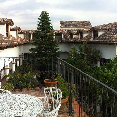 Hotel Jovel: Vista desde la terraza!!!