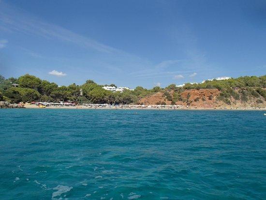 Ibiza Express Santa Eularia: Пляж