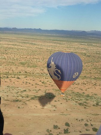 Hot Air Expeditions : one of many great views