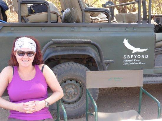 andBeyond Kirkman's Kamp: jeep