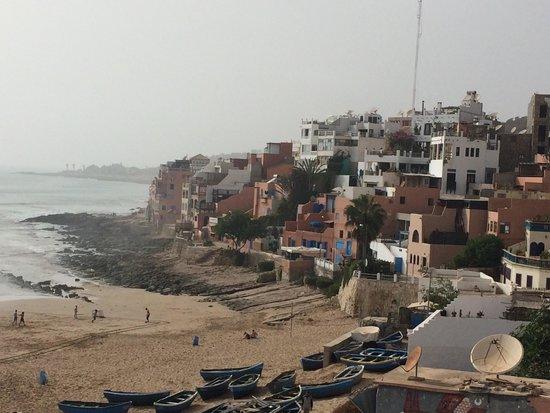 Surf Maroc L'Auberge : Foggy morning view