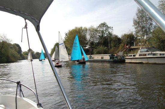 York Marina: LEFT HAND DOWN A BIT.