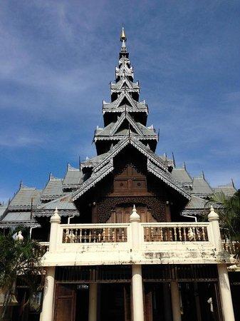Mae Sariang, Таиланд: Musuem Entrance