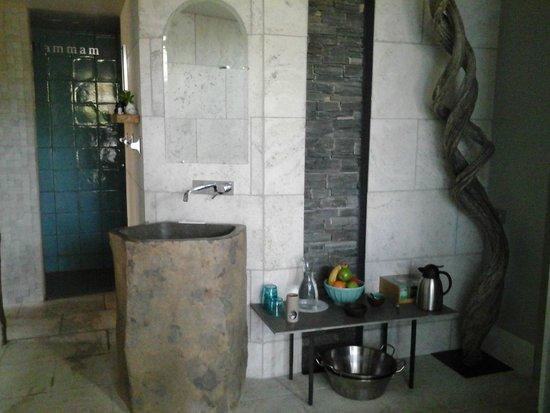 Le Mas Turquoise: espace spa hammam