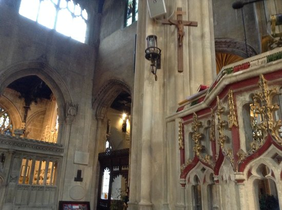 Parish Church of St John Baptist: sermon a little too long