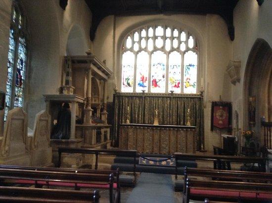 Parish Church of St John Baptist: altar