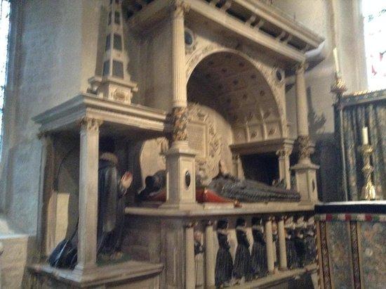 Parish Church of St John Baptist: large tomb