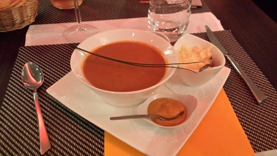 Kyriad Dieppe: Soupe de poisson