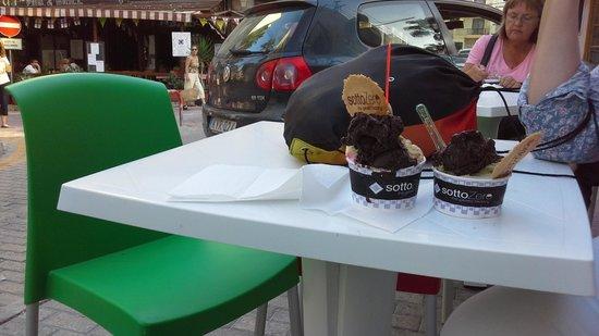 Sottozero the Gelato Factory: yummy ice creams