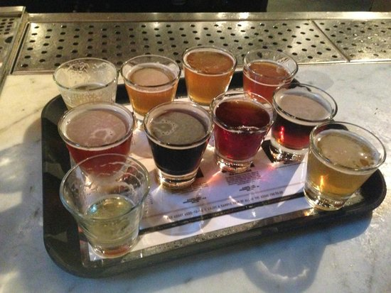 Bridgeport Brewery and Brewpub: Sample Tray