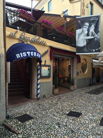 Ristorante al Gondoliere : Der Eingang und die Terrasse