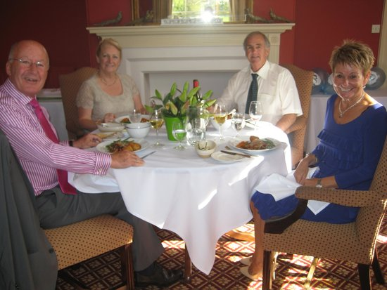Congham Hall Hotel & Spa : Lunch for four