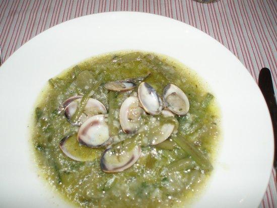 El Foro: Borrajas con almejas y arroz en salsa verde