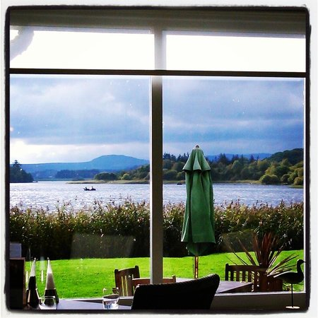 The Lake of Menteith Hotel : Lake view from the restaurant